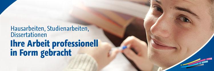 Hausarbeiten, Studienarbeiten, Dissertationen